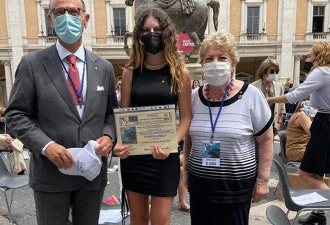 Cerimonia di premiazione dei vincitori del Concorso Nazionale Educazione alla Legalità - news
